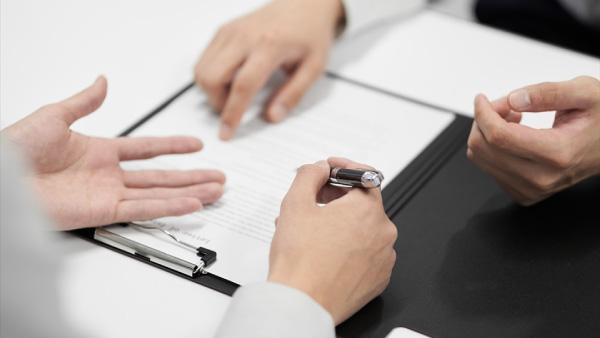 本申し込み・契約(本審査)