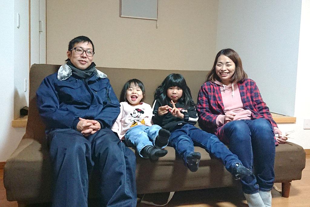 寒い冬でもホッと家族を包む家
